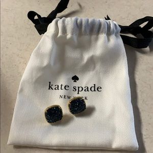 Kate spade ♠️ blue earrings. New !!